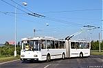 Dopravni podnik mest Chomutova a Jirkova, Skoda 15Tr ev.c. 008, Pisecna, 7.5.2018