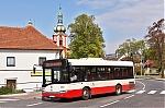DP Praha, Solaris Urbino 8.9 LE ev.c. 2061, linka cislo 229, Praha, Uhrineves, 29.4.2017