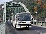Dopravni podnik mesta Decina, Karosa C744, evc. 217, DCA 14-72, Decin, 2.10.2002