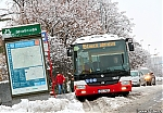 Vrsovicka Sorka NB12 c. 3805 na Strasnicke, 3.2.2019