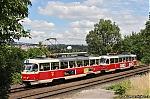 DP Praha, �KD Tatra T3M, linka ��slo 16, Praha, Krejc�rek, 19.6.2016