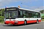 Citybus ev.c. 3251 nove zarazeny do muzea mestske hromadne dopravy v Praze Stresovicich, zachyceny po oprave v Hostivari.