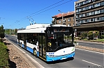 Dopravni podnik mest Chomutova a Jirkova, Skoda 26Tr Solaris c. 107, Chomutov, 7.5.2018