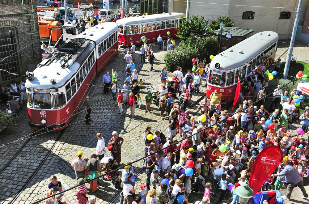 27. Tramwaytag im Wiener Strassenbahnmuseum
